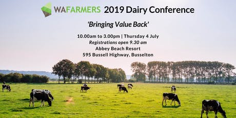 WAFarmers 2019 Dairy Conference tickets