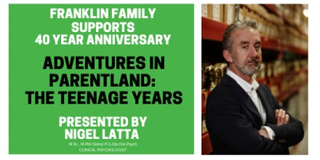 Adventures in Parentland: The Teenage Years tickets