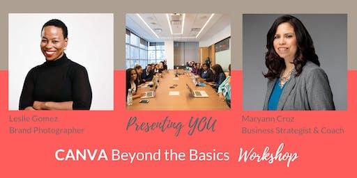 CANVA Beyond the Basics! Workshop (AM)