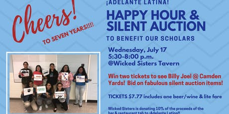 Cheers! To Seven Years! ¡Adelante Latina!  tickets