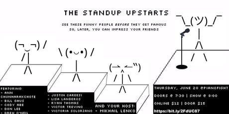 The Standup Upstarts tickets