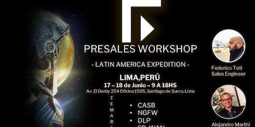FORCEPOINT PRESALES WORKSHOP- PERU EDITION