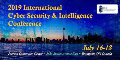 2019 International Cyber Security & Intelligence Conference tickets