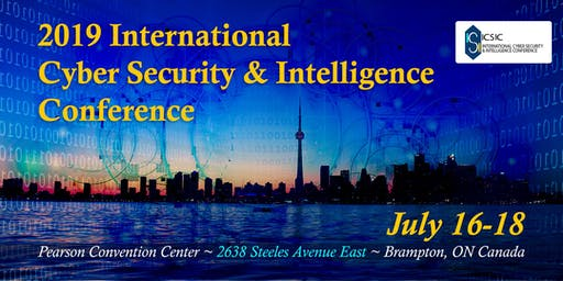 2019 International Cyber Security & Intelligence Conference