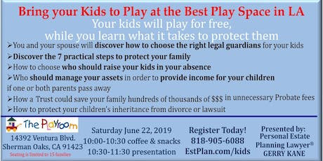 Bring Your Kids to Play at the Best Play Space in LA on 6-22-2019 tickets