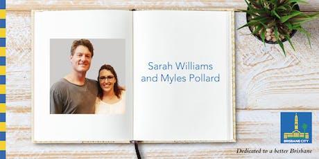 Meet Sarah Williams and Myles Pollard - Chermside Library tickets