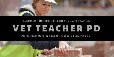 VET Teachers PD and Validation Day tickets