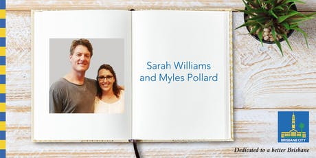 Meet Sarah Williams and Myles Pollard - Carindale Library tickets