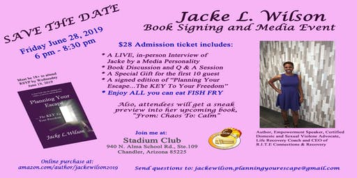 Jacke Wilson    Book Signing and Media Event