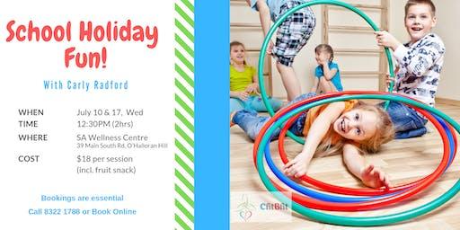School Holiday Fitness Fun Week 2