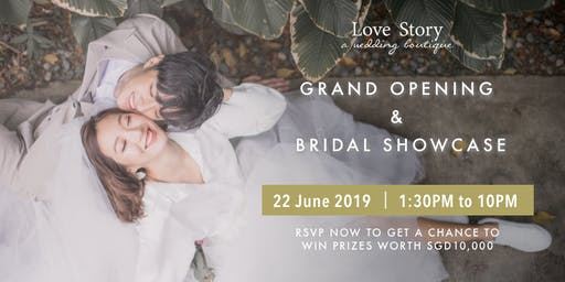 Love Nest - Grand Opening & Bridal Showcase