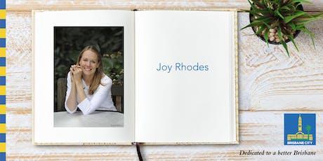 Meet Joy Rhodes - Wynnum Library tickets