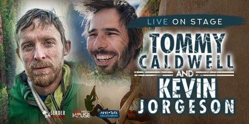 Climb with TOMMY CALDWELL & KEVIN JORGESON at ANU