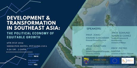 Development & Transformation in Southeast Asia: The Political Economy of Equitable Growth tickets