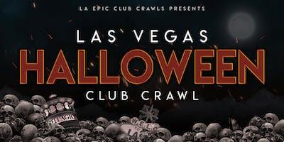2019 Las Vegas Halloween Fremont Street Bar Crawl