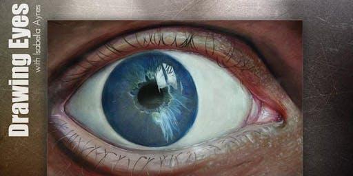 Paint & Sip Eye Drawing workshop