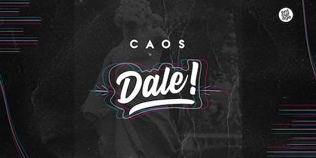 Dale! no Caos apresenta Volkoder, DJ Glen e RDT ingressos