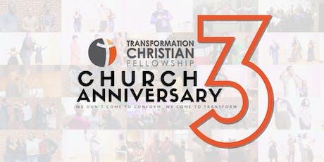 TCF Church Anniversary Celebration tickets