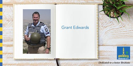 Meet Grant Edwards - Brisbane Square Library tickets