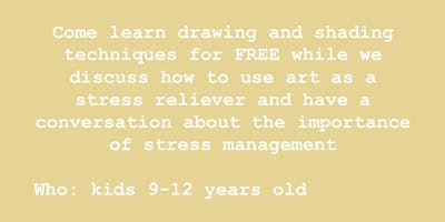 FREE STRESS RELIEVING ART WORKSHOP 2