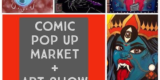 Comic Pop Up Market + Art Show