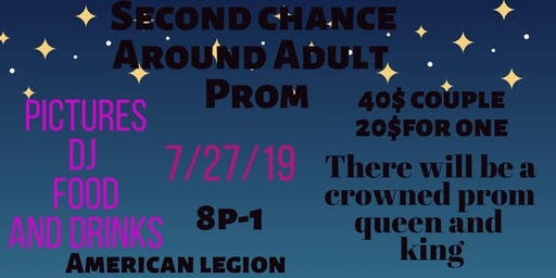 Second Chance Around Adult Prom