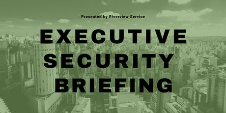 Executive Security Briefing tickets