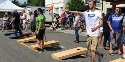 Cornhole Tournament for Clean Water