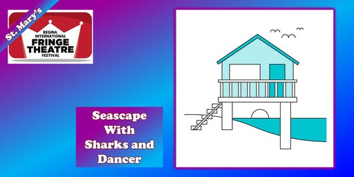 Seascape with Sharks and Dancer