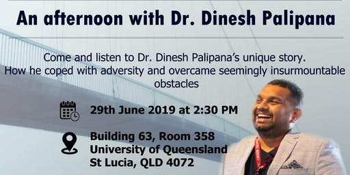 Afternoon with Dr.Dinesh Palipana