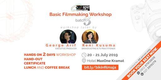 Basic Filmmaking Workshop 3 - Limited Cashback Offer IDR200K