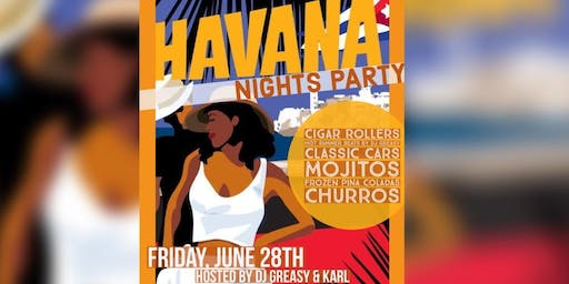 Havana Nights Party @BARcelona, hosted by DJ Greasy & Karl