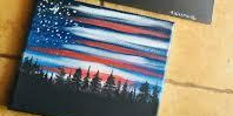 Stars and Stripes in the Sky - Paint Night tickets