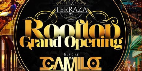 La Terraza Rooftop Grand Opening 6/15 tickets