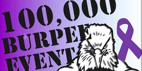 100,000 Burpee Challenge tickets