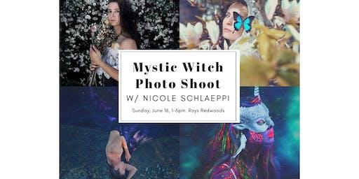 Mystic Witch Photo Shoot w/ Nicole Schlaeppi