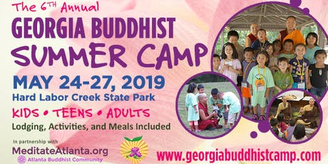Georgia Buddhist Summer Camp tickets