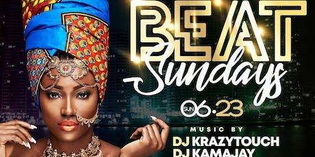 AFROBEAT SUNDAYS {Afrobeats, DanceHall, Soca, Konpa, HipHop} tickets