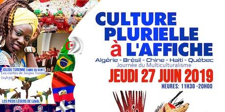 Culture Plurielle à l'affiche 5e édition: Les contes de Joujou Turenne billets