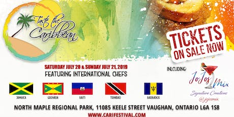 Taste the Caribbean tickets