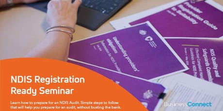 NDIS Registration Ready Seminar - Griffith tickets