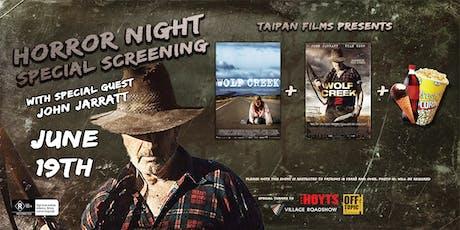 Wolf Creek Double Bill with Special Guest John Jarratt tickets