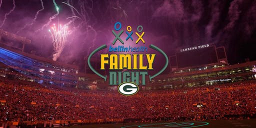 Green Bay Packers Family Night 2019