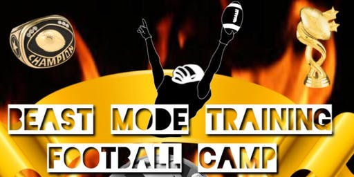 Beast Mode Training Football Camp