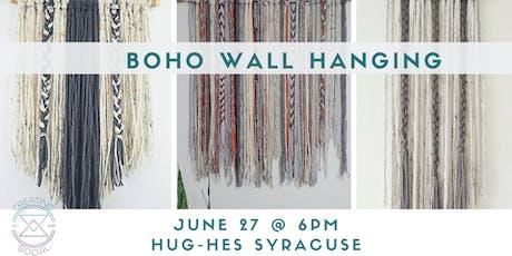 Boho Wall Hanging Workshop  tickets