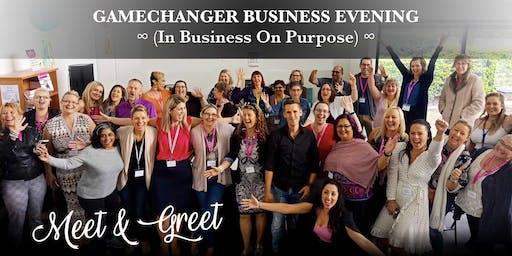 Gamechanger Business Evening - Meet & Greet