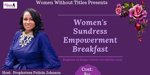 Women's Sundress Empowerment Breakfast