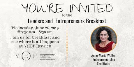 Leaders & Entrepreneurs Breakfast tickets