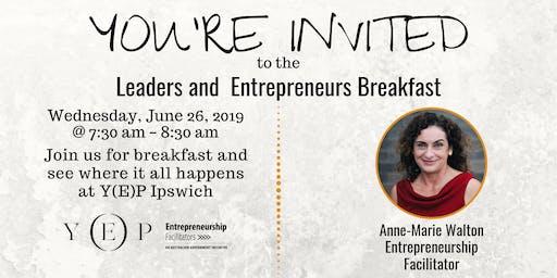 Leaders & Entrepreneurs Breakfast