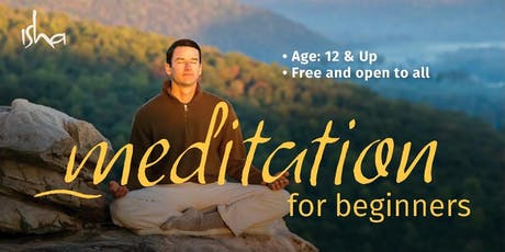 Meditation for Beginners (FREE class) tickets